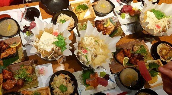 """Kelionių organizatoriaus """"GRŪDA"""" nuotr./Japoniškas maistas"""