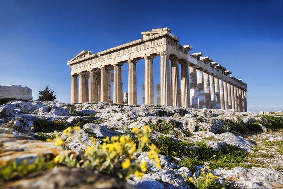 """Kelionių organizatoriaus """"GRŪDA"""" nuotr./Partenono šventykla Atėnų Akropolyje, Graikija"""