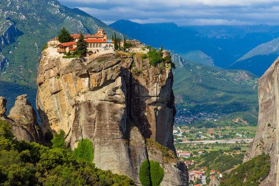 """Kelionių organizatoriaus """"GRŪDA"""" nuotr./Meteoros vienuolynai, Graikija"""