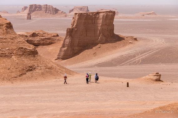"""Kelionių organizatoriaus """"GRŪDA"""" nuotr./Šahdado dykuma"""