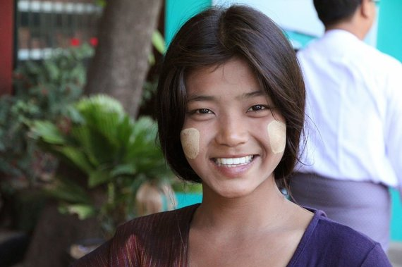 """Kelionių organizatoriaus """"GRŪDA"""" nuotr./Mianmaro gyventoja"""