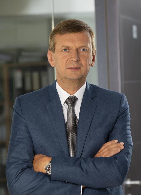 """Asmeninio arch. nuotr./""""Rivonos"""" generalinis direktorius ir """"Norfos"""" įmonių grupės savininkas Dainius Dundulis"""