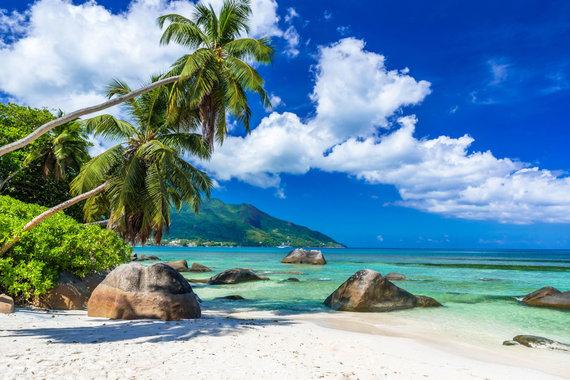 123RF.com nuotr./Seišeliai, Mahė salos paplūdimys