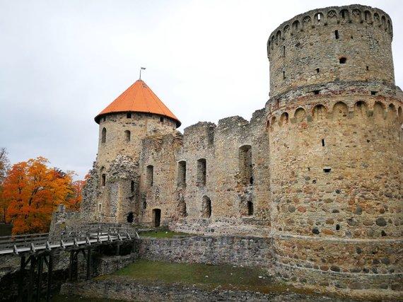 """Kelionių organizatoriaus """"GRŪDA"""" nuotr./Cėsio pilis, Latvija"""