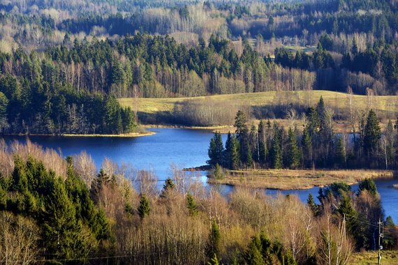 """Kelionių organizatoriaus """"GRŪDA"""" nuotr./Panorama nuo Sūr Munamiagio kalvos, Estija"""