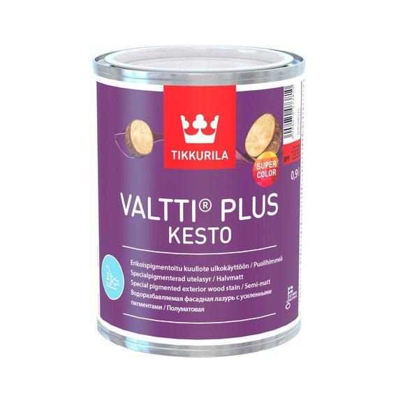 """""""Tikkurila"""" nuotr./""""Tikkurila Valtti Plus Kesto"""" dažyvė"""