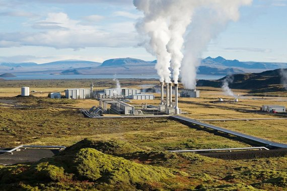 """Kelionių organizatoriaus """"GRŪDA"""" nuotr./Geoterminė jėgainė, Islandija"""
