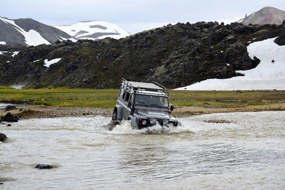 """Kelionių organizatoriaus """"GRŪDA"""" nuotr./Keliautojų išbandymai Islandijoje"""