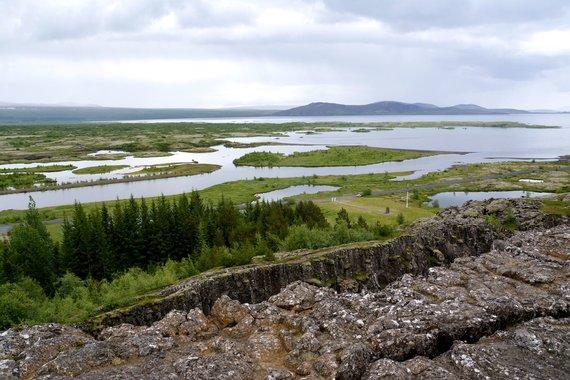 """Kelionių organizatoriaus """"GRŪDA"""" nuotr./Tingvedliro slėnis, Islandija"""