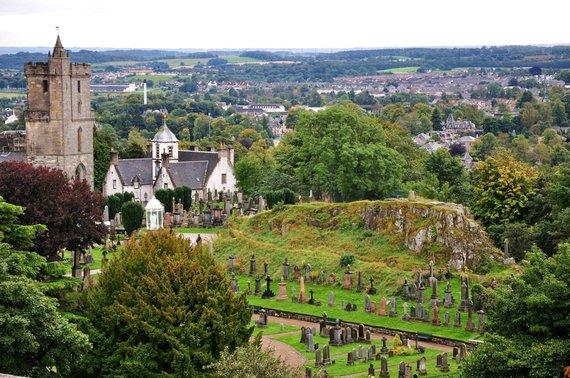 """Kelionių organizatoriaus """"GRŪDA"""" nuotr./Stirlingo pilis ir kapinės"""