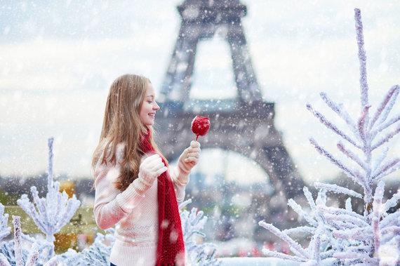 123RF.com nuotr./Paryžius žiemą