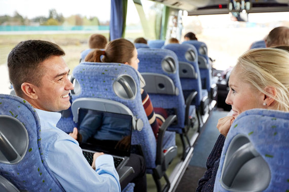 123RF.com nuotr./Kelionės autobusu