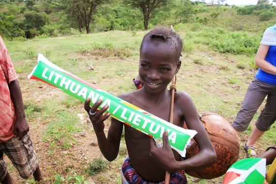 """Kelionių organizatoriaus """"GRŪDA"""" nuotr./Mažasis mūsų draugas, Etiopija"""