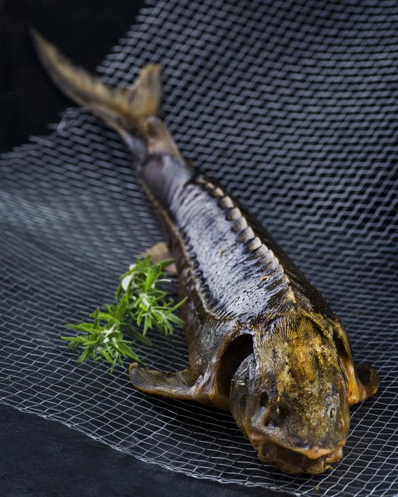 """Organizatorių nuotr./""""Kintų"""" žuvis"""