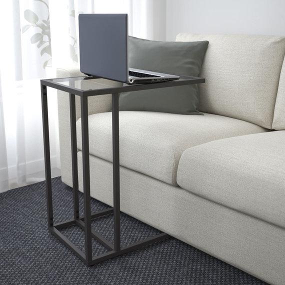IKEA nuotr./Nešiojamojo kompiuterio stovas. IKEA