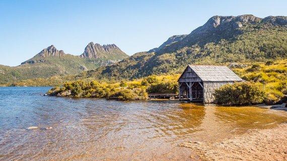 Shutterstock nuotr./Tasmanijos kalnų panorama