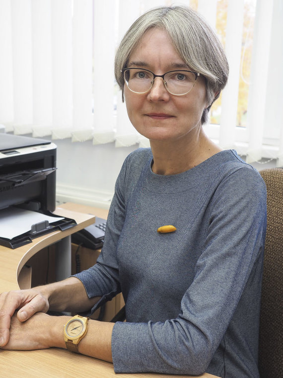 Asmeninio arch. nuotr./Nacionalinio vėžio instituto Vėžio epidemiologijos laboratorijos Vyresnioji mokslo darbuotoja Rūta Everatt