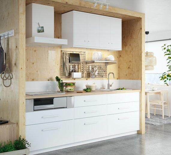 IKEA nuotr./IKEA virtuvė
