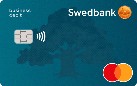 Organizatorių nuotr./Swedbank MC Business debit