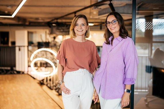 Organizatorių nuotr./Šarūnė Smalakytė ir Jekaterina Bitus