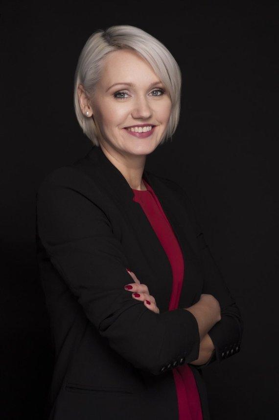Organizatorių nuotr./Laima Kaušpadienė, Saulėtekio slėnio mokslo ir technologijų parko direktorė