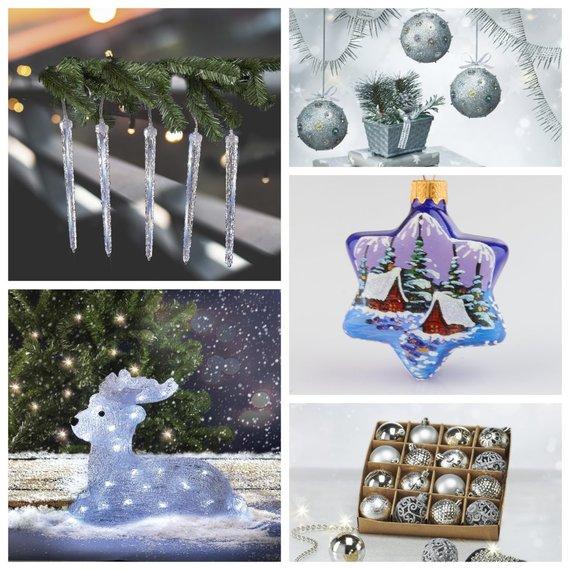 """""""Norfos"""" prekybos tinklo nuotr./Kalėdinės dekoracijos"""