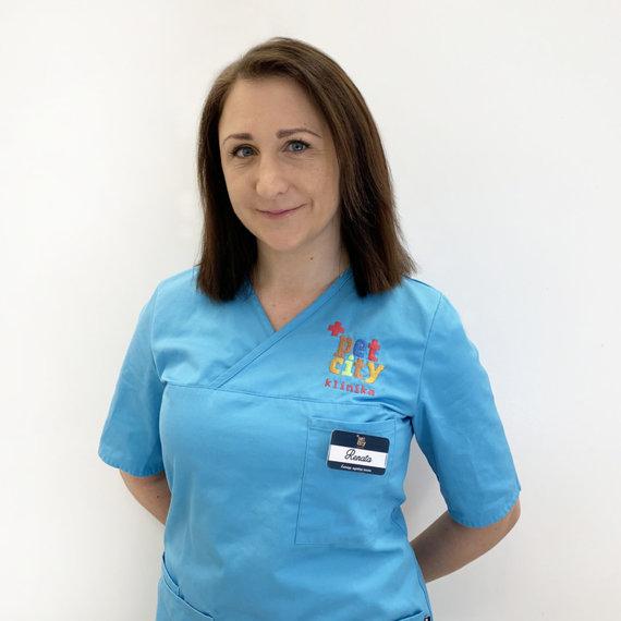 """Organizatorių nuotr./""""PetCity"""" klinikos veterinarijos gydytoja Renata Balčiūnaitė-Jarmalavičė"""