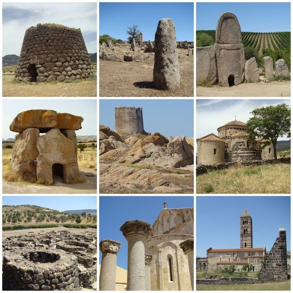 123RF.com nuotr./Sardinija, nuragai