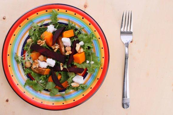 123RF.com nuotr./Grikių salotos