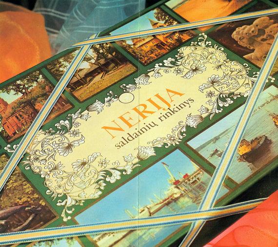 """Archyvinės nuotr./Saldainių dėžutė """"Nerija"""""""
