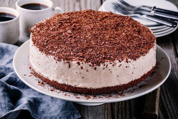 123RF.com nuotr./Sūrio tortas