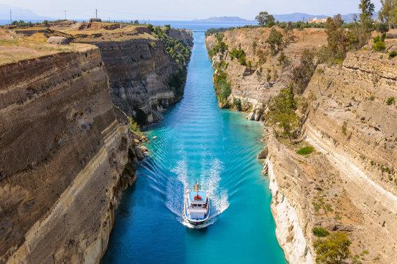 Organizatorių nuotr./Korinfo kanalas, Peloponesas