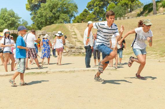 Organizatorių nuotr./Olimpia, Peloponesas