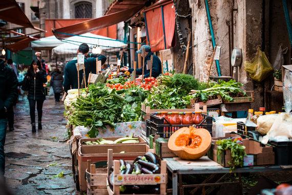 123RF.com nuotr./Itališkas turgus
