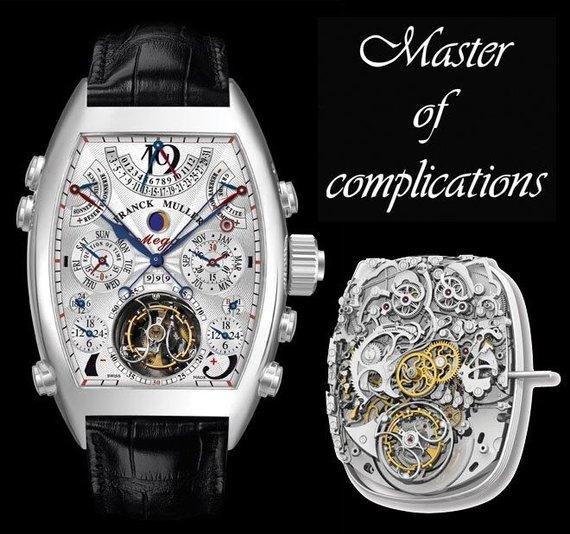 Organizatorių nuotr./Vienas iš brangiausių laikrodžių pasaulyje