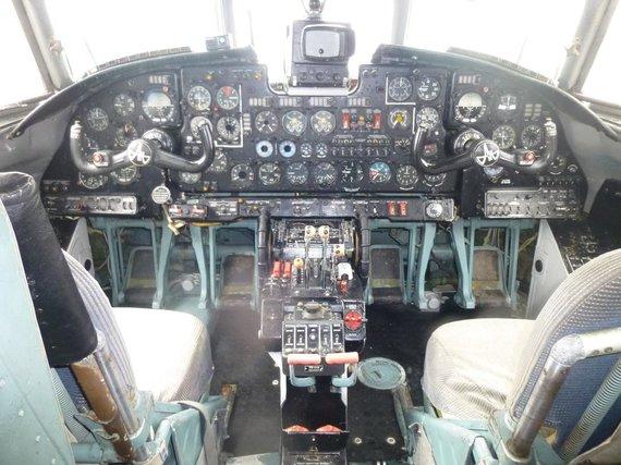 Turto banko nuotr./ Transportinis lėktuvas AN-26B