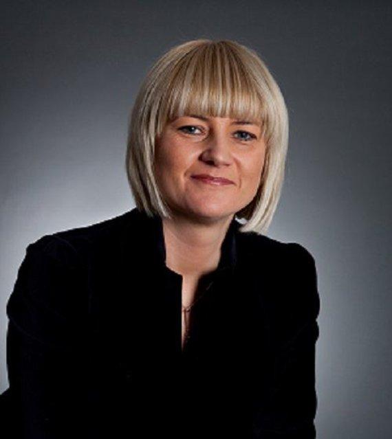 """AMES""generalinė direktorė Eglė Kesylienė"