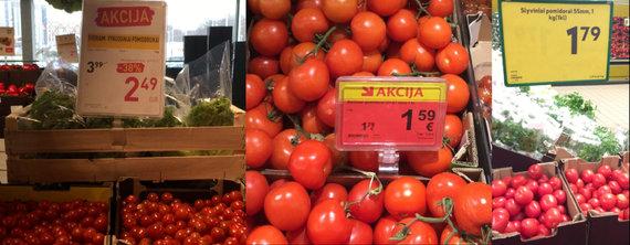 Pomidorų kainos