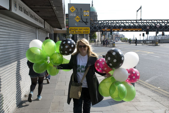 Partnerio nuotr./Airijos profesinėje sąjungoje SIPTU lietuvė Evelina Šaduikytė dirba jau 12 metų.