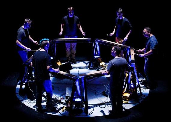 Ian Douglas nuotr./Mantra Percussion