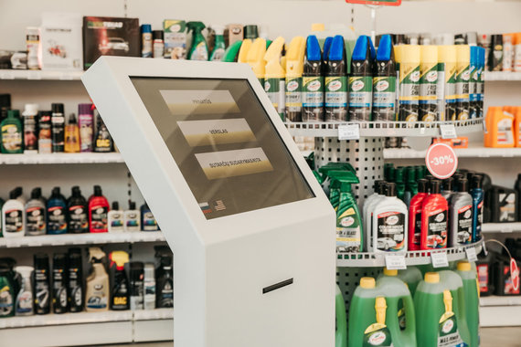 """Partnerio nuotr./Atidaroma nauja """"EOLTAS"""" parduotuvė – lankytojų lauks savitarnos zona ir daugiau nei 180 000 skirtingų prekių"""