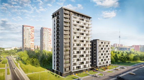 """Partnerio nuotr./""""Horizon"""" – A+ energinės klasės būstas vertinantiems miesto privalumus"""