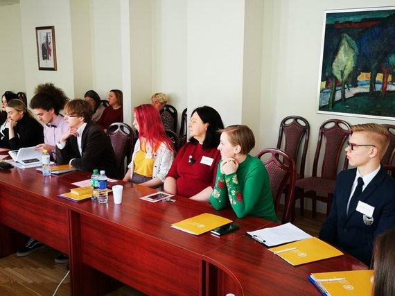 Partnerio nuotr./Brigita Meškonytė konferencijoje