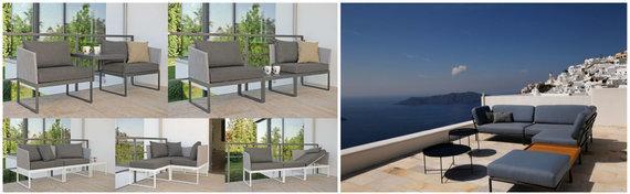 Partnerio nuotr./Moduliniai baldai – funkcionalūs ir lengvai pritaikomi