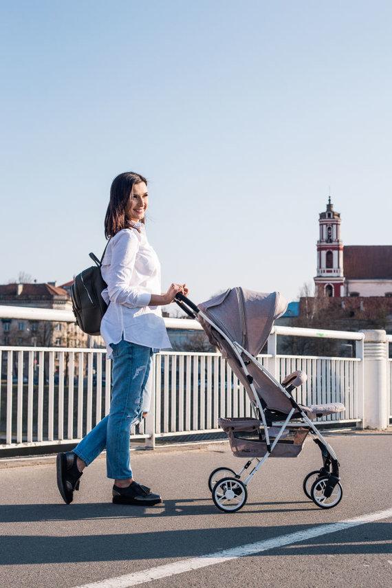 Partnerio nuotr./Sportiniai vaikų vežimėliai – praktiška, saugu ir funkcionalu