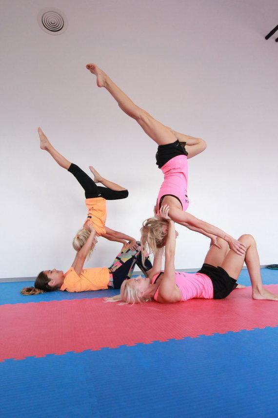 Partnerio nuotr./Akrobatika – sporto šaka, kurią nors kartą gyvenime reikia išbandyti kiekvienam