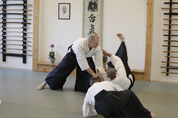 """Partnerio nuotr./Aikido Aikikai asociacija """"Sūkurys"""""""