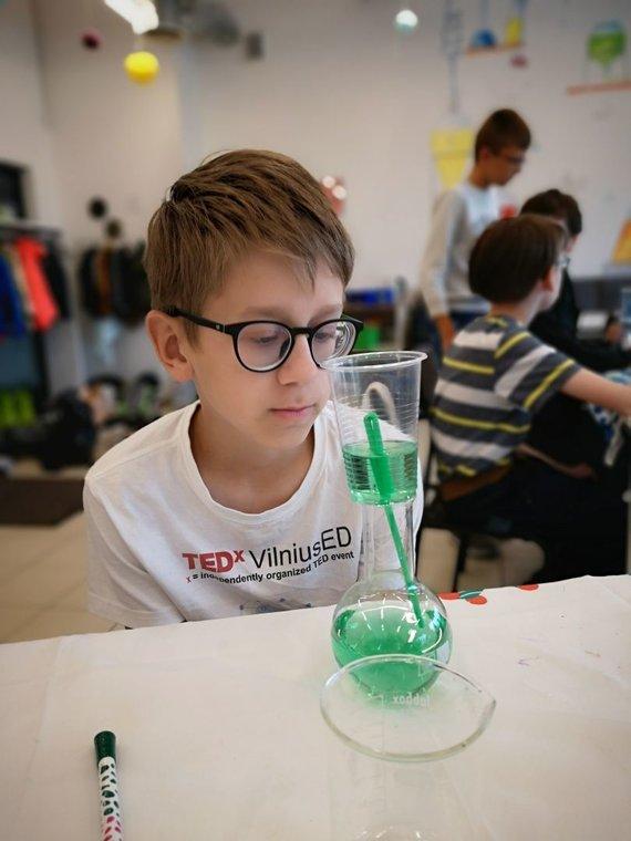 Partnerio nuotr./Chemija – įdomus, interaktyvus ir ateitį kuriantis mokslas