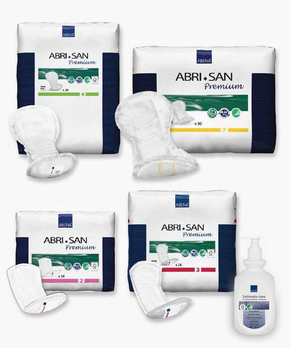 Partnerio nuotr./Danų gamintojo ABENA produktai