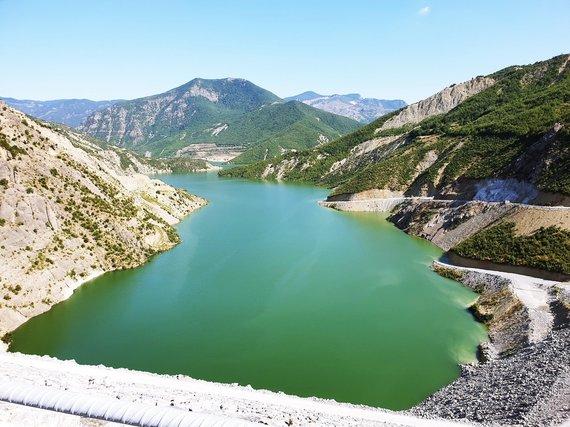 Asmeninio archyvo nuotr./Moglice hidroprojektas Albanijoje